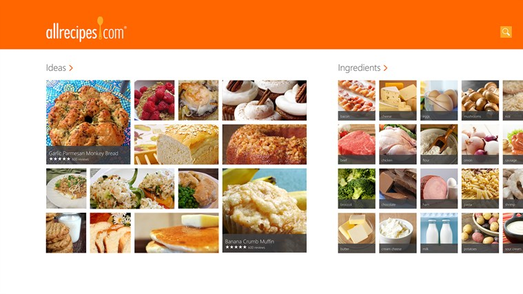 Pleasing Allrecipes For Windows 8 And 8 1 Short Hairstyles Gunalazisus