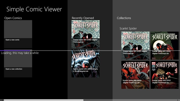 Simple Comic Viewer for Windows 8 and 8 1