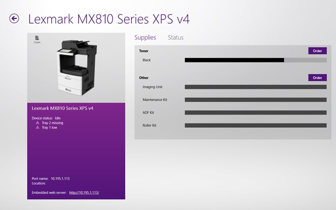 Lexmark XM5100 MFP XPS v4 Drivers for PC
