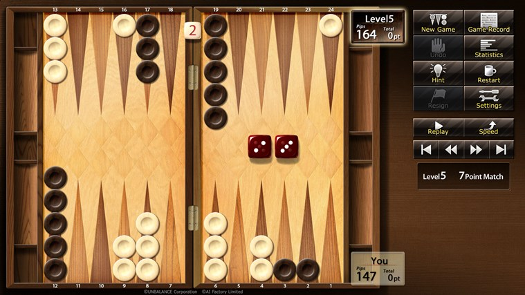 Win Backgammon