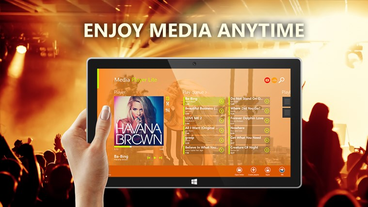 Media Player Lite for Windows 8 and 8 1