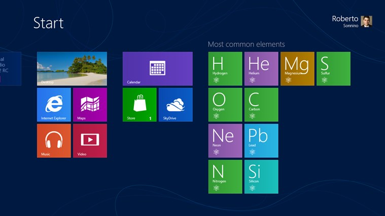 Periodic table for windows 8 and 81 periodic table for windows 8 urtaz Images