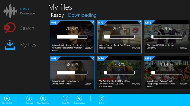 Converter for YouTube by Flvto for Windows 8 and 8 1