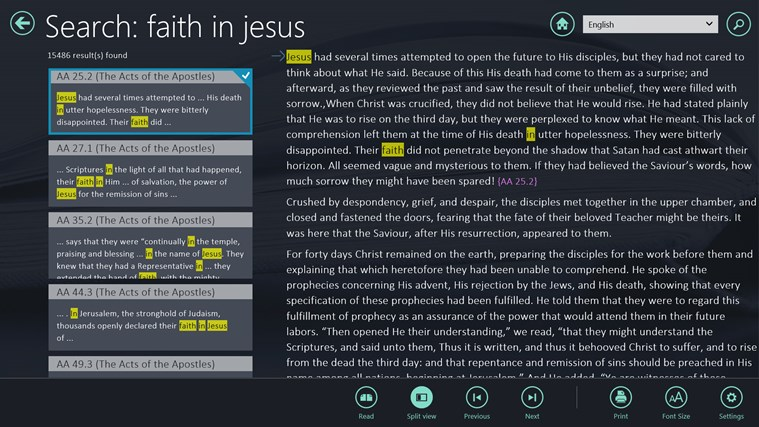 EGW Writings for Windows 8 and 8 1