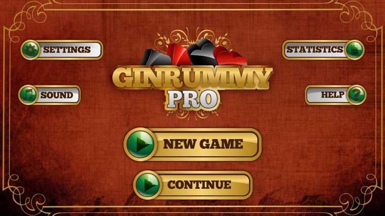 Gin Rummy Pro For Windows 8 And 81