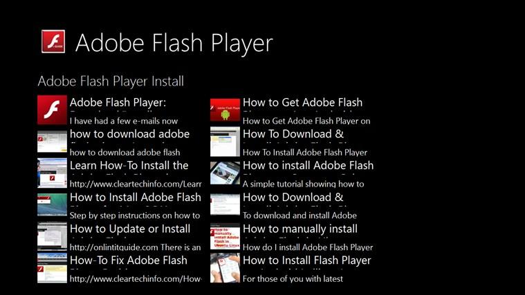 flash player installieren