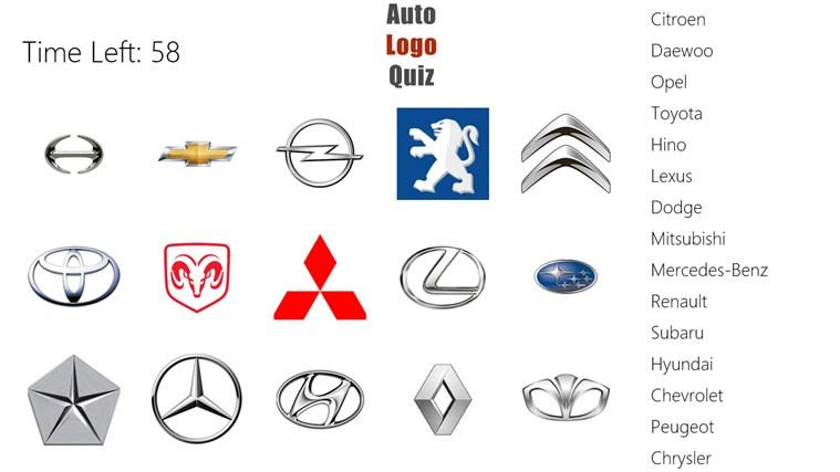 Auto Logo Quiz >> Auto Logo Quiz For Windows 8 And 8 1