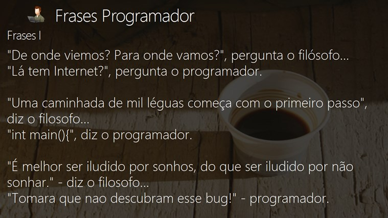 Frases Programador For Windows 8 And 81