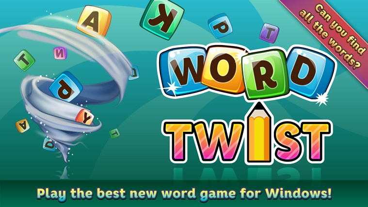 Word Twist Deluxe For Windows 8 And 81