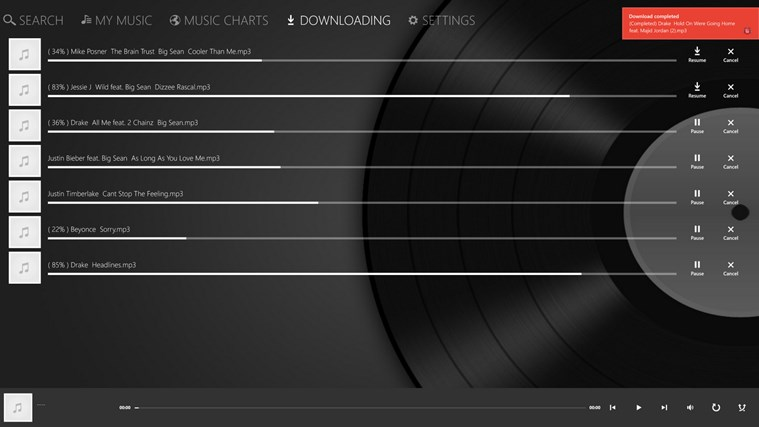 iMusic - Free Music Downloader for Windows 8 and 8.1