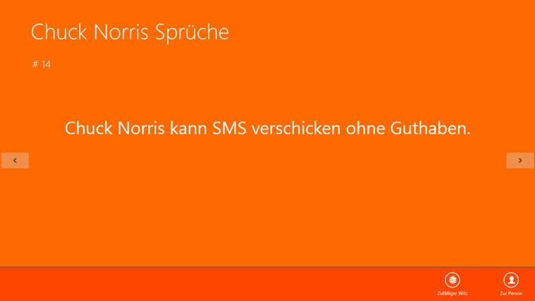 Chuck Norris Sprüche For Windows 8 And 81