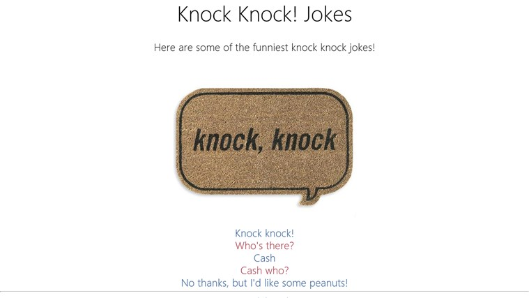 Knock, Knock! for Windows 8 and 8 1