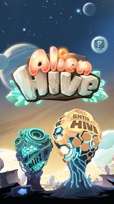 Evolving-aliens puzzle game