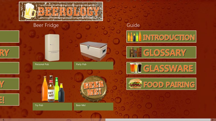 Your very own beer fridge!  Save all your favorites!