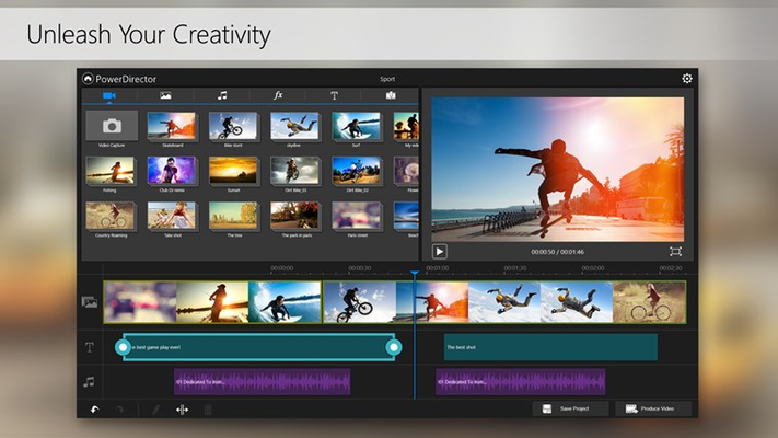 Create awesome videos just seconds