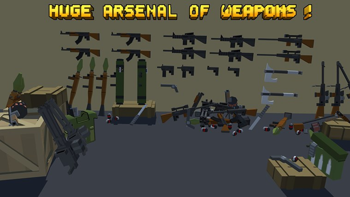 Pixel Fury: 3D Multiplayer for Windows 8