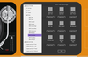 Tap the double-note icon to assign sounds to the pads.