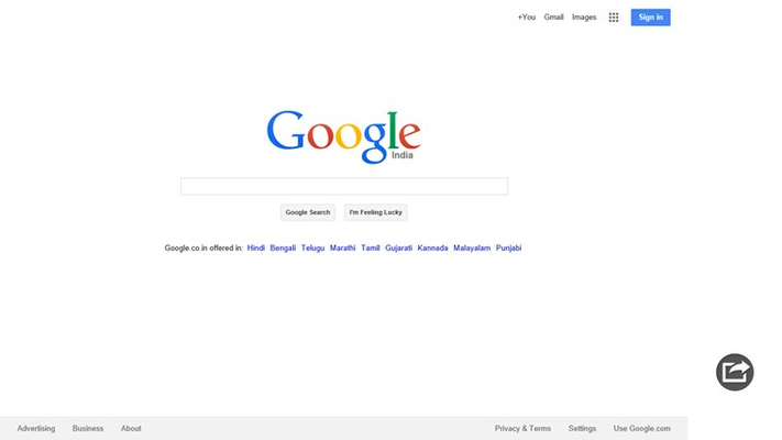 Search pane