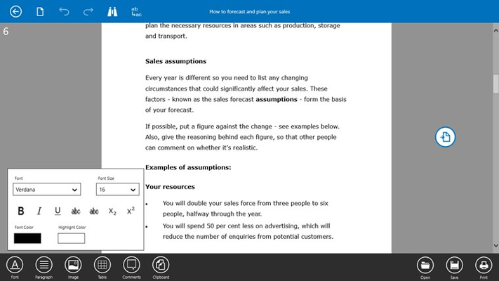 Notepad 2.0 for Windows 8