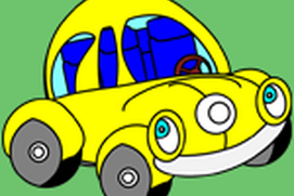 Vehicles Coloring Pages for Kids