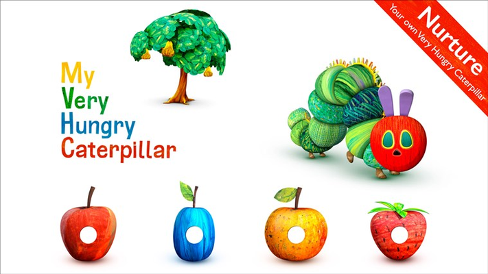 Nurture: your own Very Hungry Caterpillar