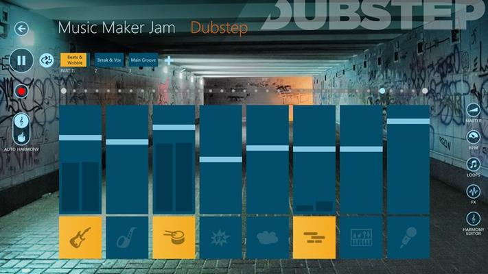 Music style Dubstep