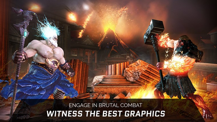 ENGAGE IN BRUTAL COMBAT WITNESS THE BEST GRAPHICS