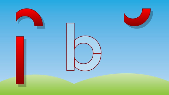 Learn to recognize English letters and hear its sound. Several puzzle tests included