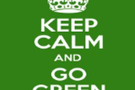 Keep Calm Go Green