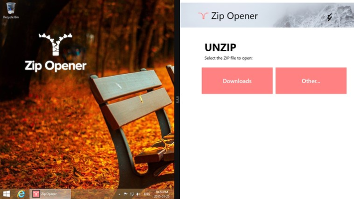 Beautifully Open Any Zip File In Seconds, No Instructions Needed