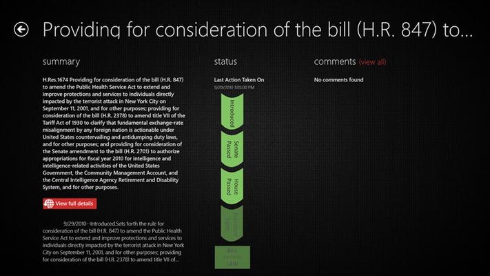 Track Bills