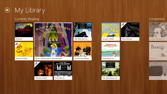 Free Books- 23,469 classics to go. for Windows 8
