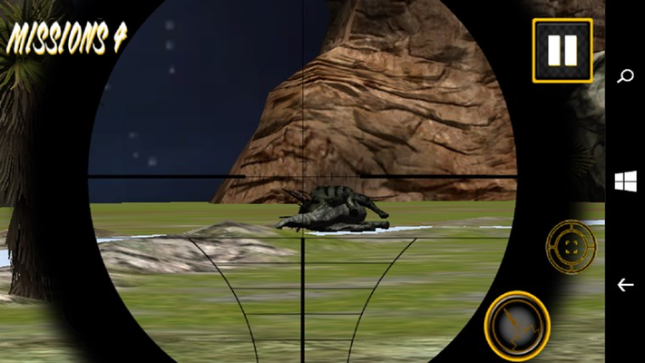 Mountain Dino Shooting for Windows 8