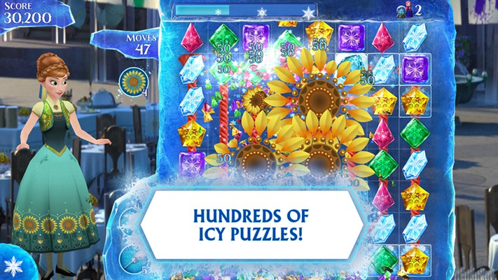 HUNDREDS OF ICY PUZZLES!