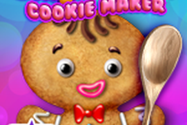 Gingerbread Crazy Chef- Cookie Maker: Santa Claus' Favorite Holiday Christmas Cookies For Kids!