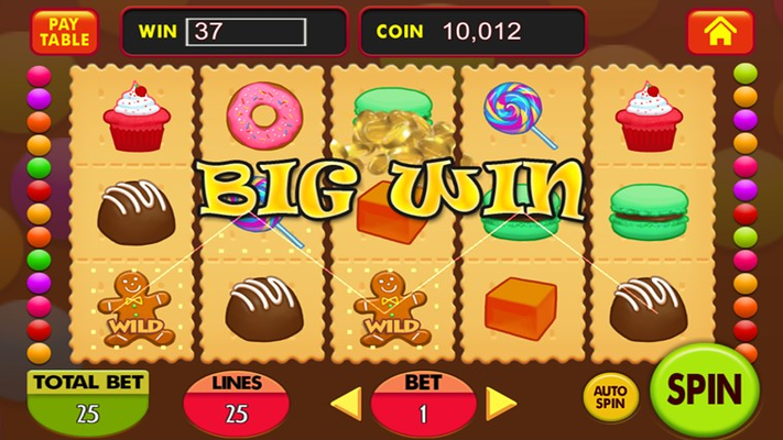 Candy jelly funny slot machine!
