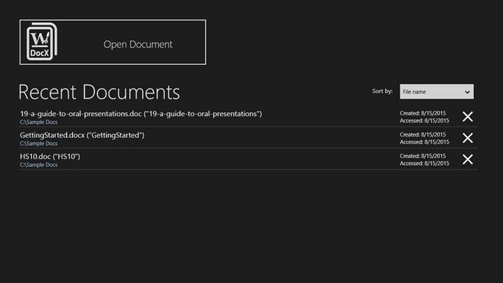 Document Reader & Editor for Windows 8