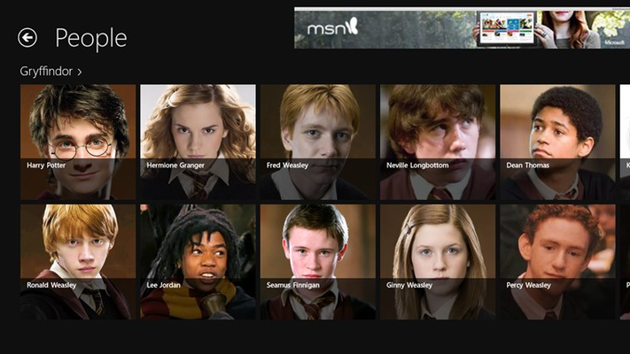 Harry Potter Almanac for Windows 8