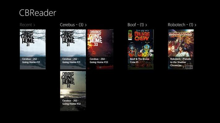 CBReader for Windows 8