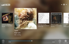 Browse your playlist in full screen.