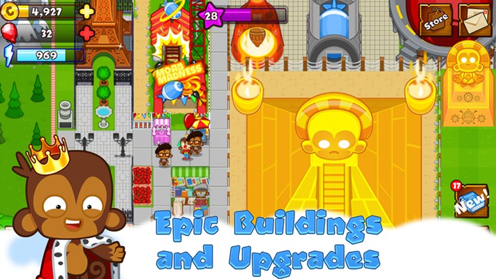 Epic Buildings and Upgrades