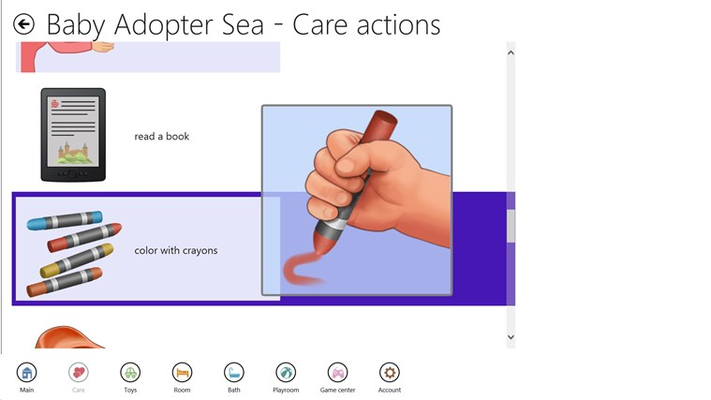 Baby Adopter Sea: Babysitting and Traveling for Windows 8