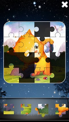Collect jigsaw puzzle images