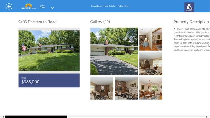 Property listing details