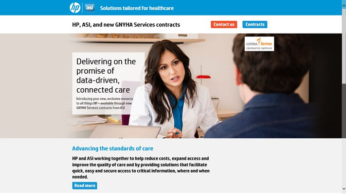 HP ASI Solutions for Healthcare for Windows 8