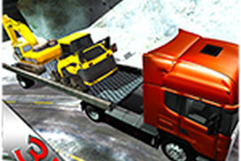 Heavy Machinery Transporter Simulation: Transport Mega Construction Equipment