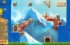 Build castles on steep mountain landscapes