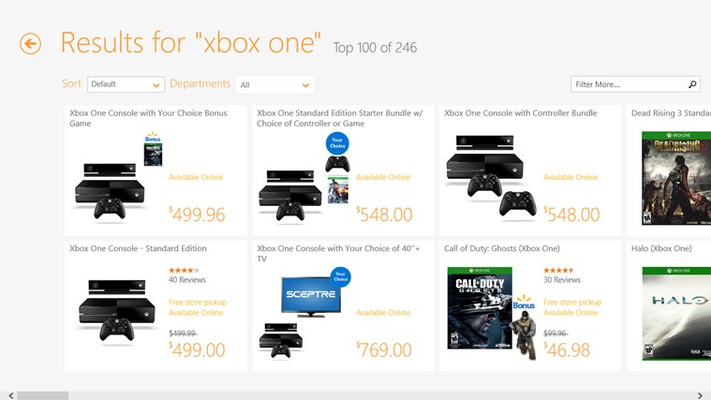 "Search results for ""xbox one"""