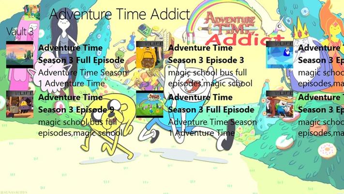 Adventure Time Addict for Windows 8