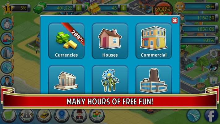 Many hours of free fun!